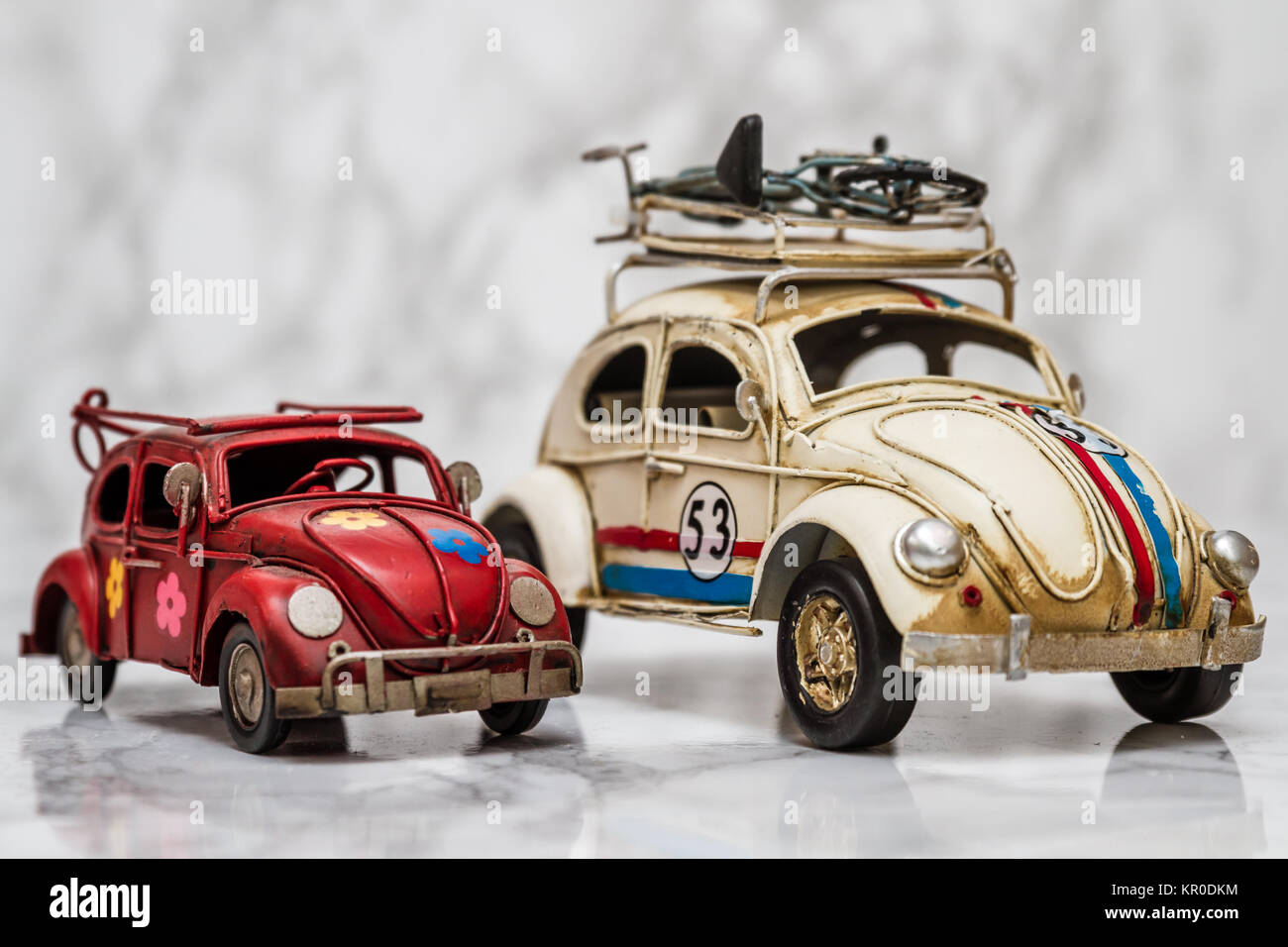 Classic Mini Car Models On White Stock Photo 169041144 Alamy