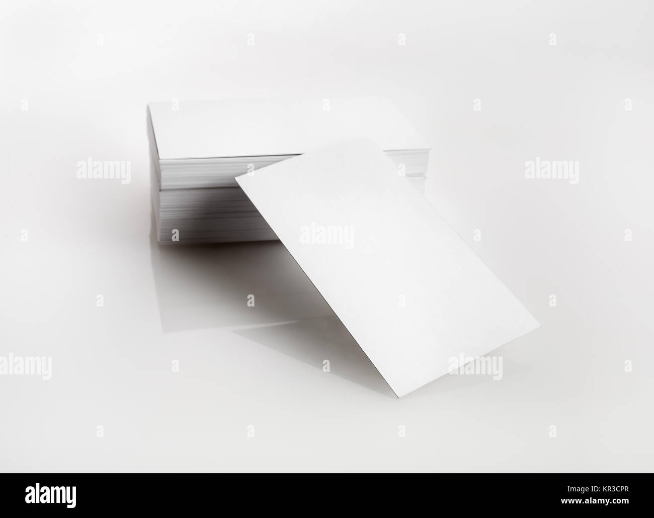 Blank business cards stock photo 169106303 alamy blank business cards colourmoves