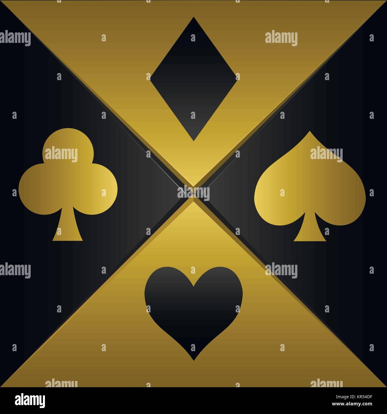 Poker playing card symbols stock vector art illustration vector poker playing card symbols biocorpaavc