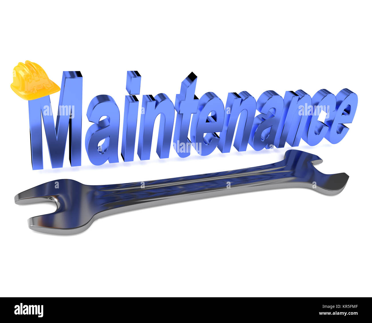 Wrench icon 3d stock photos wrench icon 3d stock images alamy maintenance concept image on white 3d rendering stock image buycottarizona