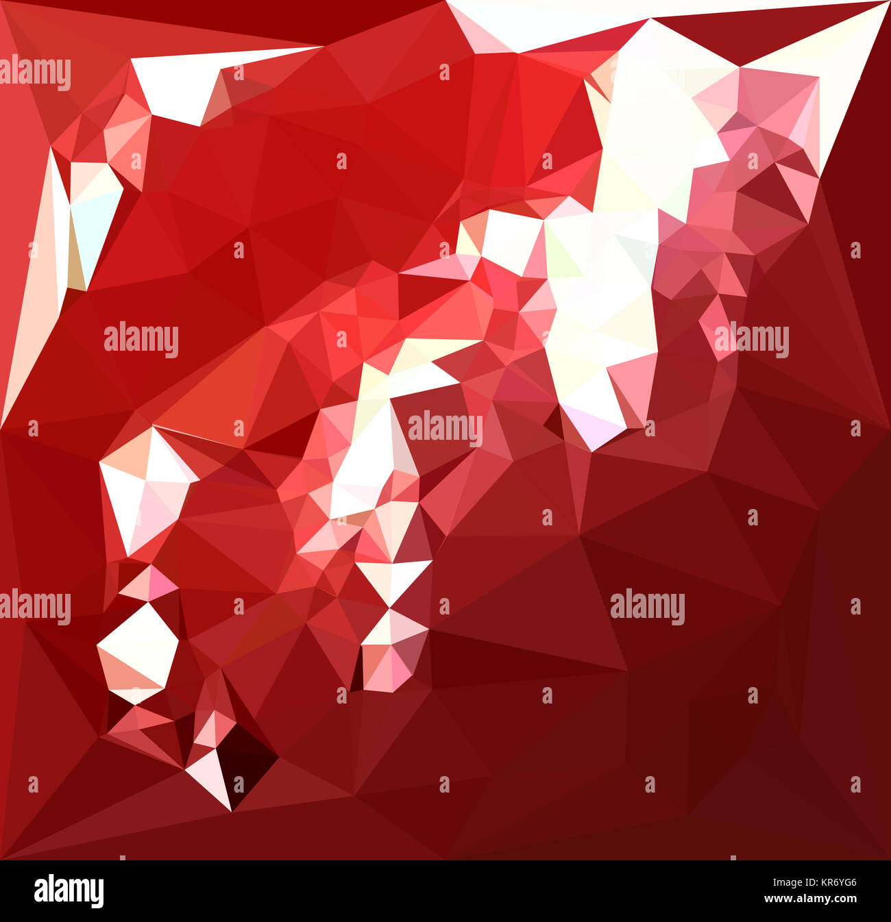 Polygon Gmbh coquelicot abstract low polygon background stock photo