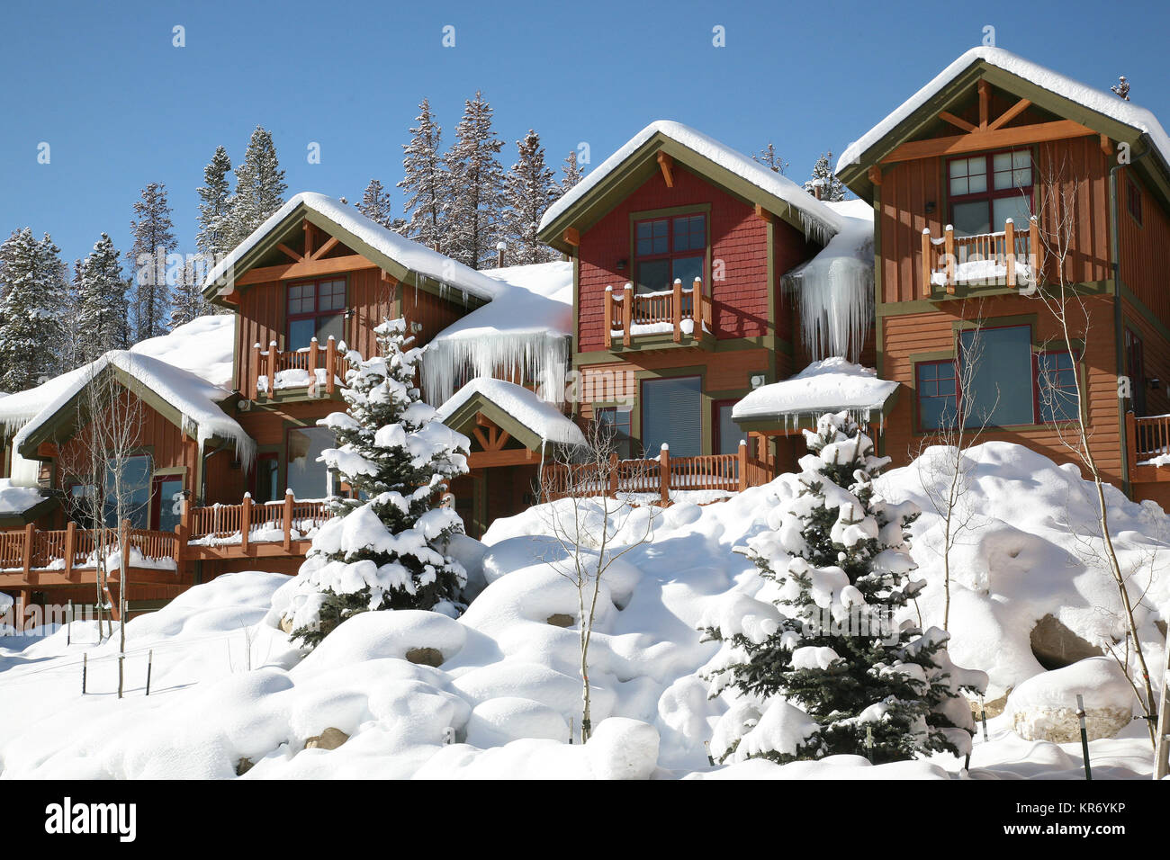 Rental cabins stock photos rental cabins stock images for Cabin rentals in winter park co