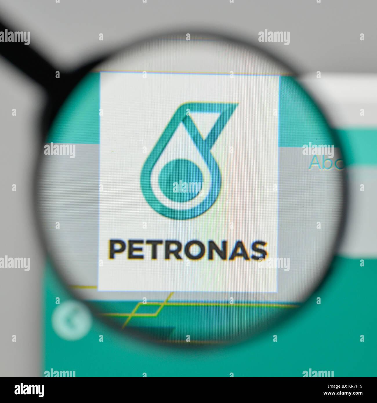 Milan italy november 1 2017 petronas logo on the website stock milan italy november 1 2017 petronas logo on the website homepage buycottarizona Gallery