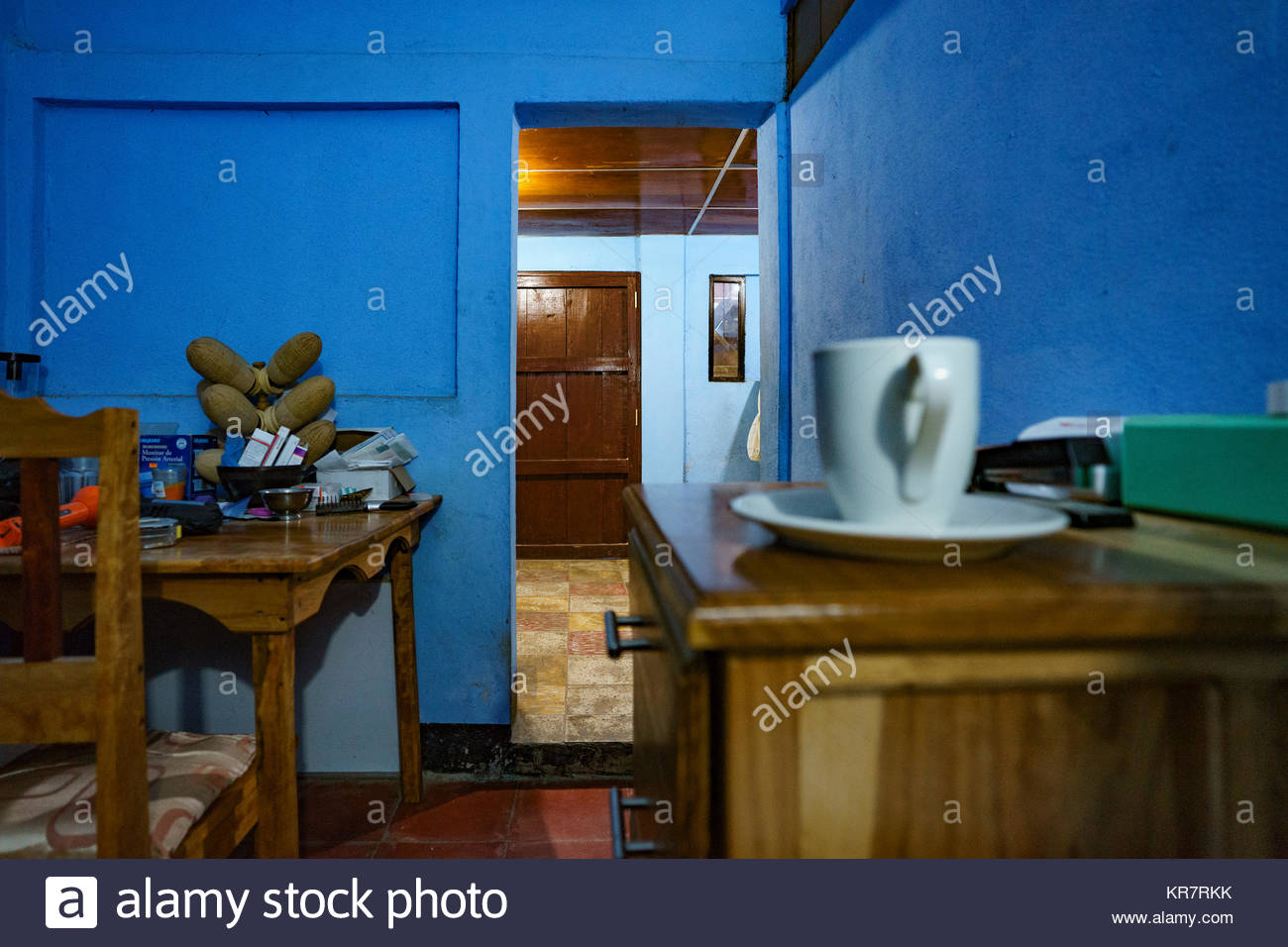 Expat S Study With Door To Kitchen Various Custom Furniture And