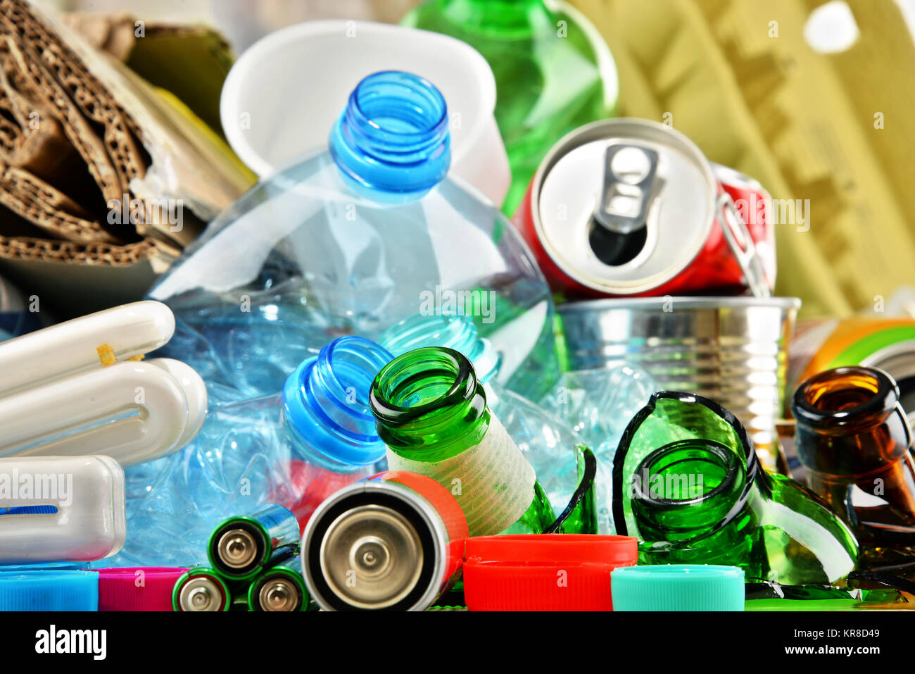 segregation of recyclable waste and waste Implement a waste segregation plan and provide training and education regarding proper waste segregation  • municipal solid waste • recyclable materials.
