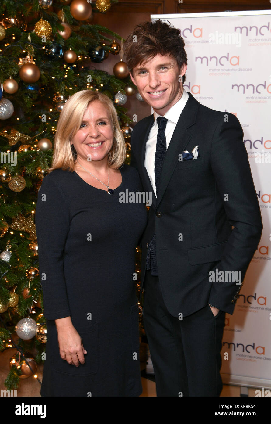 Lucy Hawking Daughter Of Professor Stephen Hawking And Edredmayne Attending The Motor Neuron Disease Association Carol Concert At The Wren Chapel