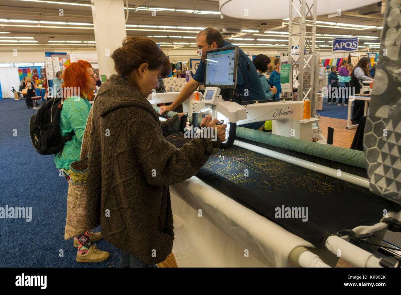 Testing Booths Stock Photos & Testing Booths Stock Images - Alamy : quilt show manchester nh - Adamdwight.com