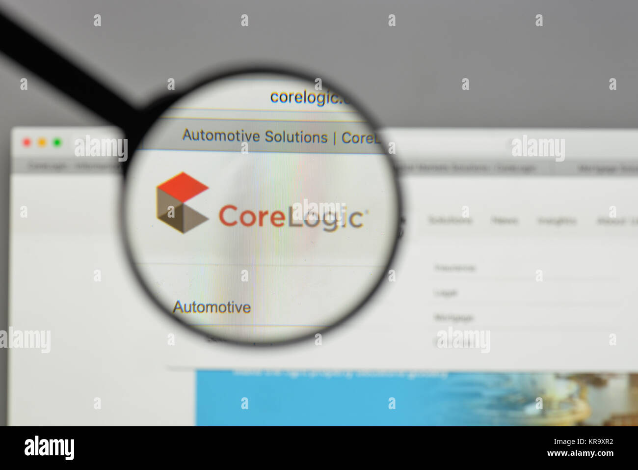 Milan italy august 10 2017 core logic logo on the website milan italy august 10 2017 core logic logo on the website homepage buycottarizona