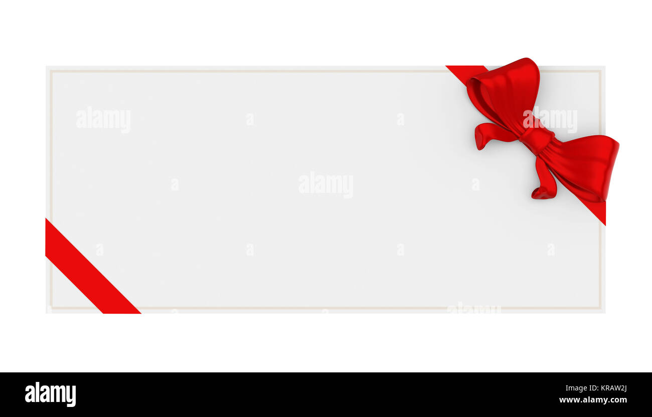 blank gift voucher isolated stock photo 169269594 alamy