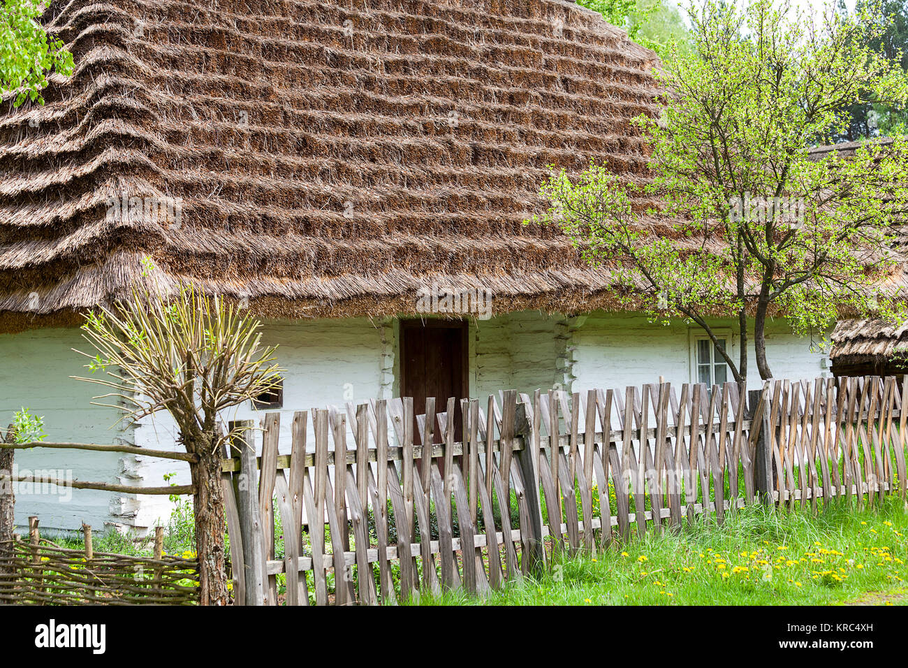 Old wooden house poland stock photos old wooden house poland stock images alamy - Traditional polish houses wood mastership ...