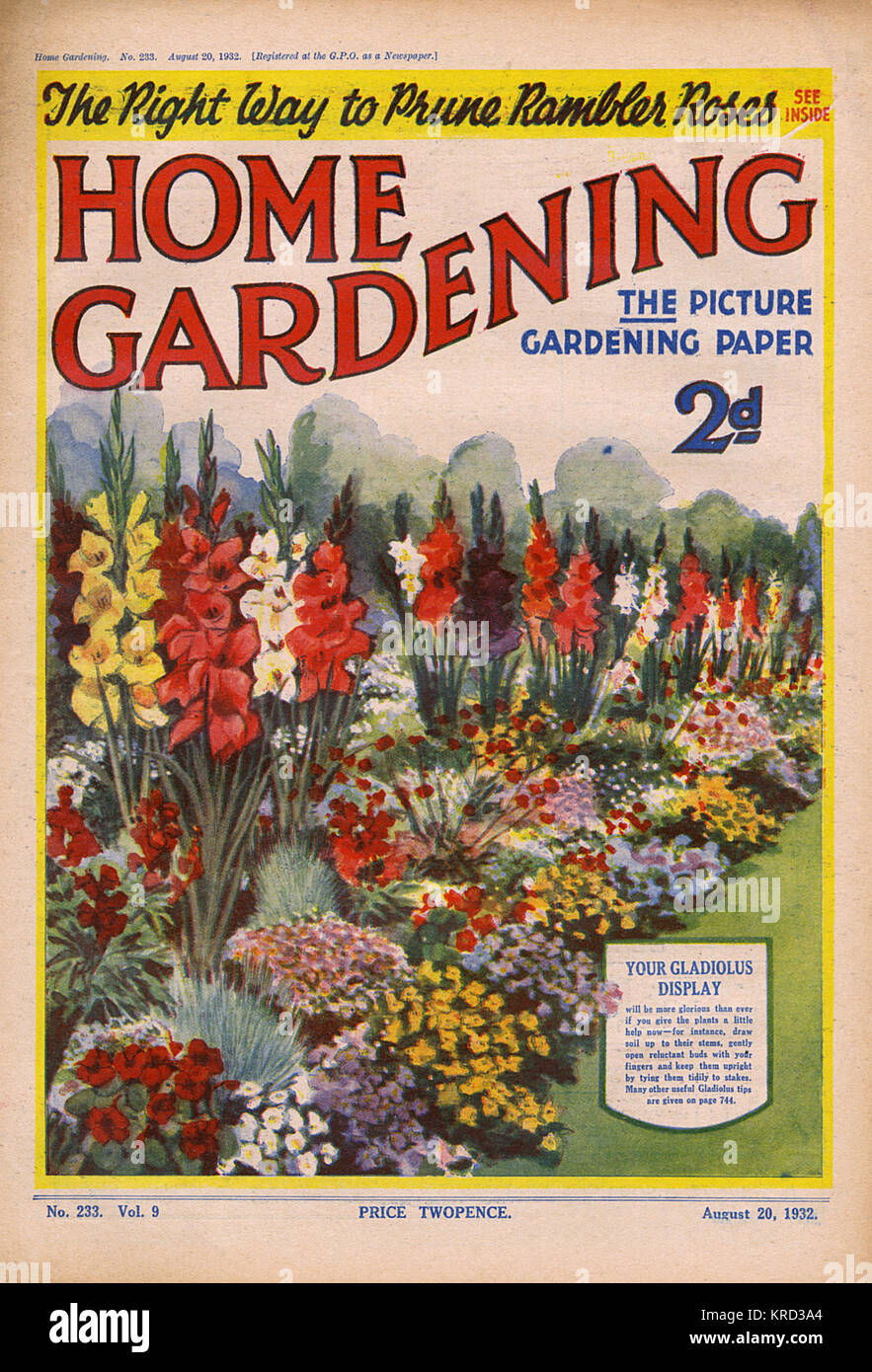 Home Garden Zeitschrift floral magazine stock photos floral magazine stock images alamy