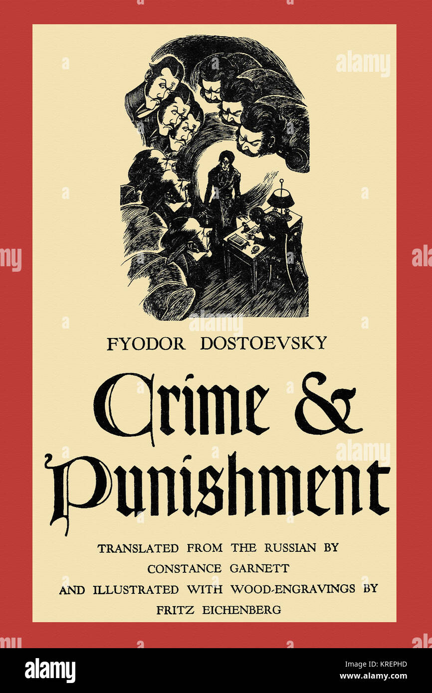 an analysis of the novel crime and punishment by fyodor dostoyevsky The crime in crime and punishment occurs very early in the novel leaving the rest of the novel to entertain theories of punishment.