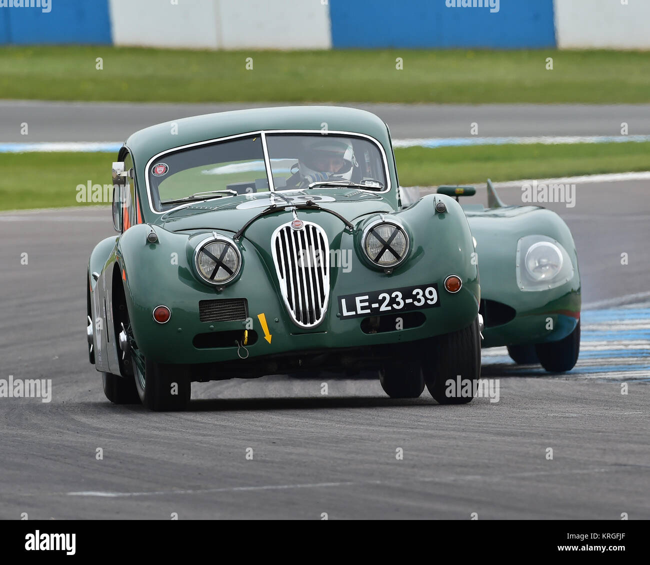 1954 Jaguar Xk140: Jaguar Xk140 Racing Car Stock Photos & Jaguar Xk140 Racing