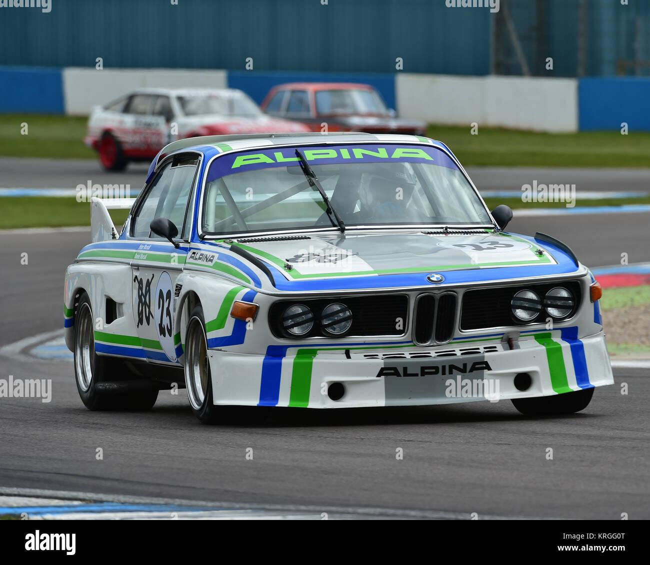 Peter Mursall, Daniel Mursall, BMW 3 Litre CSL, HTCC, Historic Touring Car