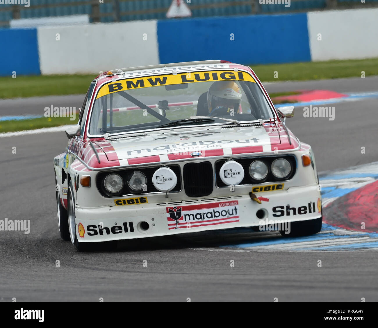 Eric Mestdagh, BMW 3 Litre CSL, HTCC, Historic Touring Car Challenge, Tony