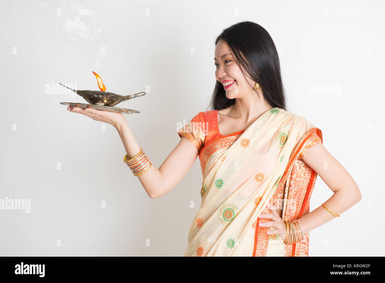 Portrait Girl Holding Oil Lamp Stock Photos  for Girl Holding Lamp  49jwn