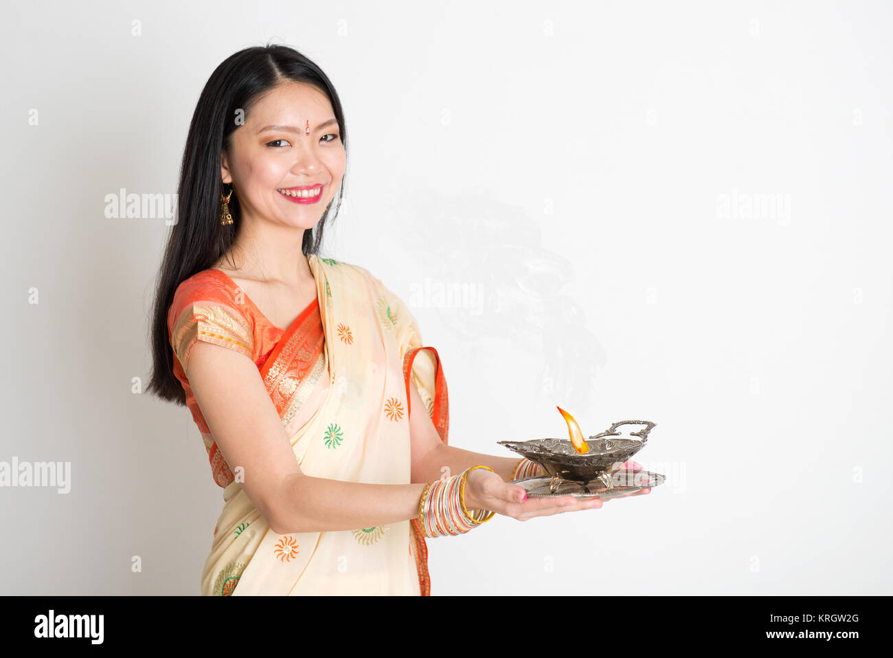 Portrait Girl Holding Oil Lamp Stock Photos  for Girl Holding Lamp  257ylc