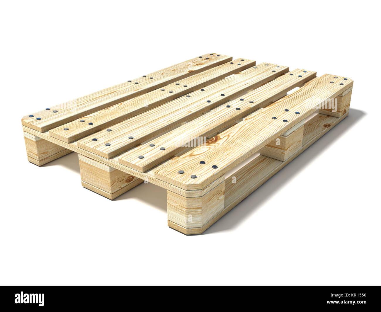 Euro Pallet 3D Stock Photo 169407644