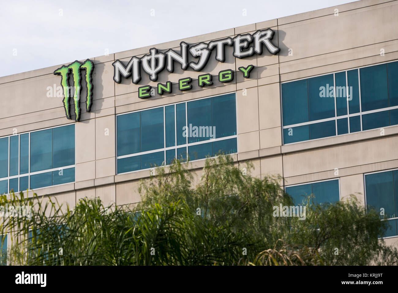 Monster beverage stock photos monster beverage stock images alamy - Monster energy corporate office ...