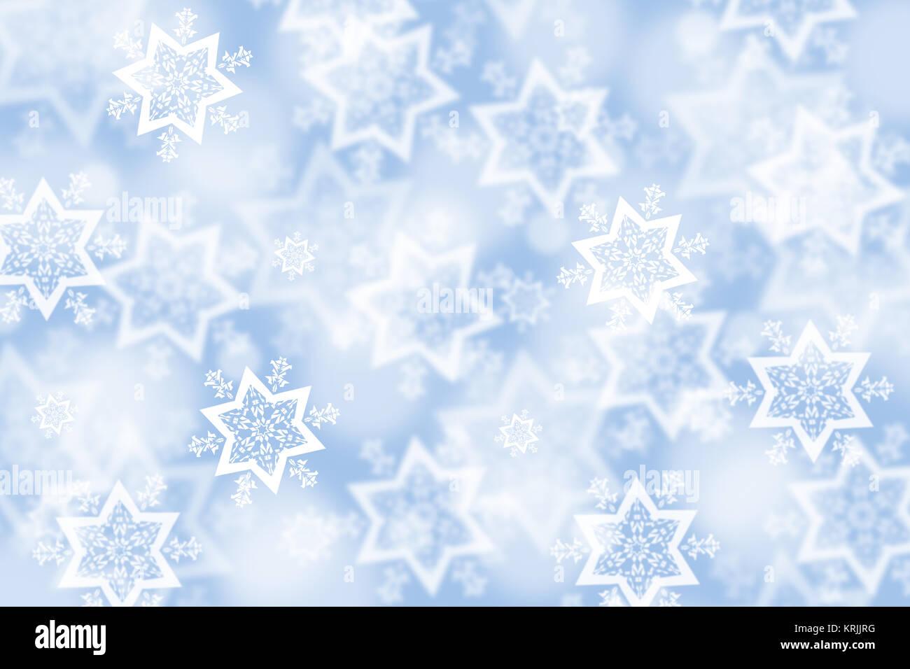 Weihnachten Schnee Winter Hintergrund Karte Weihnachtskarte Stock ...