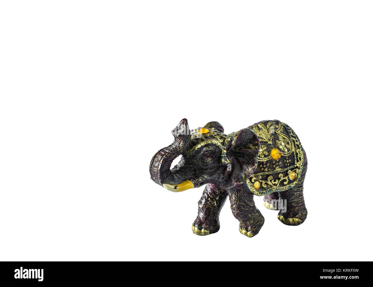 Elephant A Symbol Of Good Luck Feng Shui Elephant Isolated On