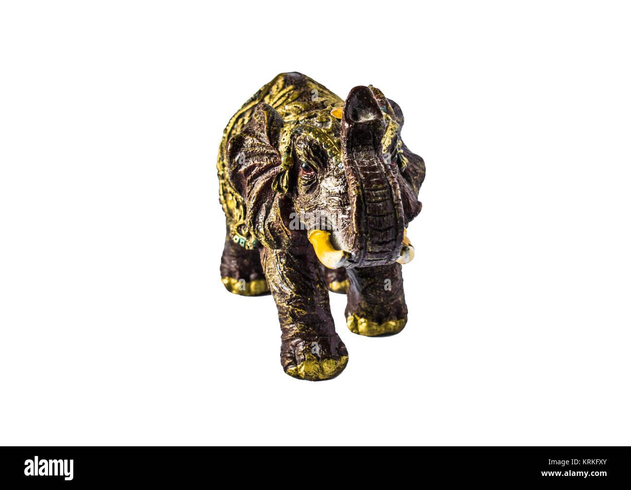 Elephant A Symbol Of Good Luck Elephant Isolated On White Stock