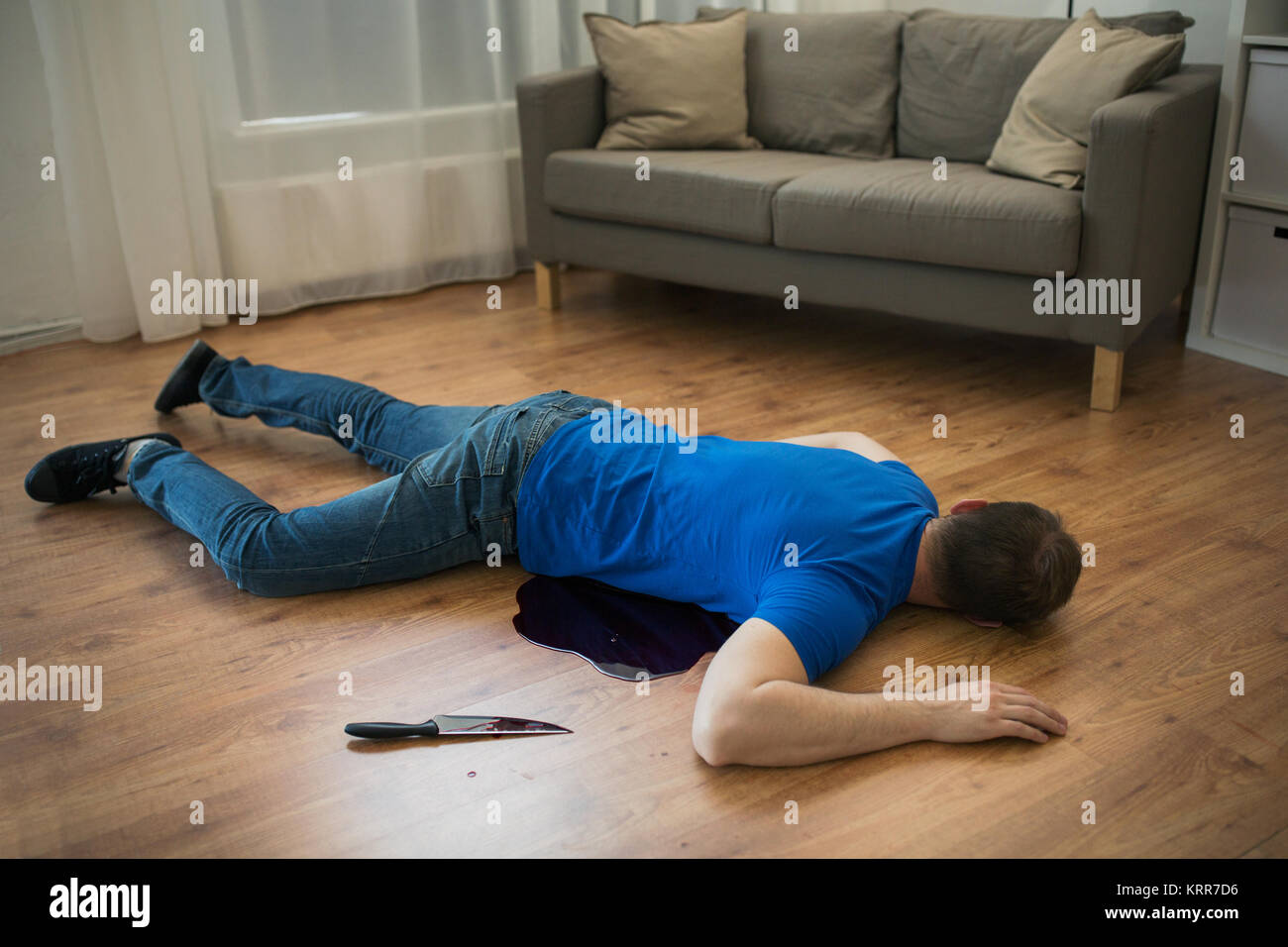 Crime scene dead body on stock photos crime scene dead - Leave you dead in the living room ...