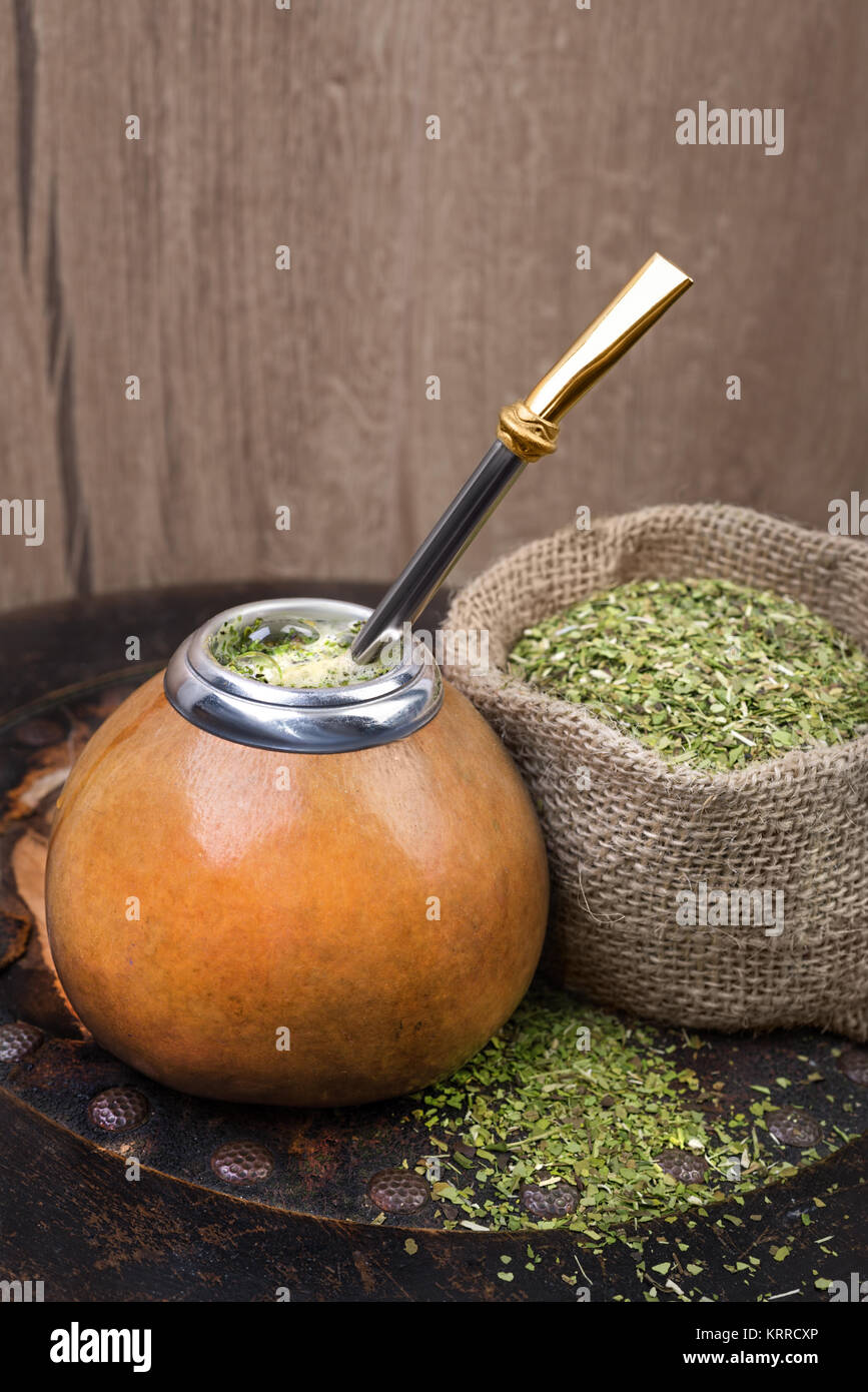 how to make yerba mate in a gourd