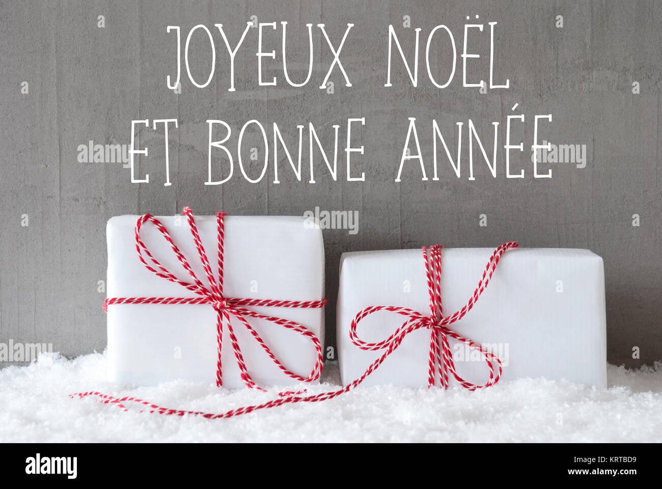 french text joyeux noel et bonne annee means merry. Black Bedroom Furniture Sets. Home Design Ideas