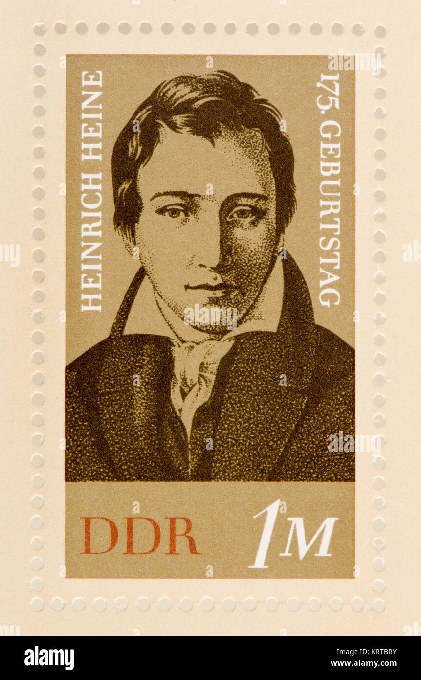 german poet and essayist heinrich Christian johann heinrich heine was a german poet, journalist, essayist, and literary critic he is best known outside of germany for his early lyric poetry.