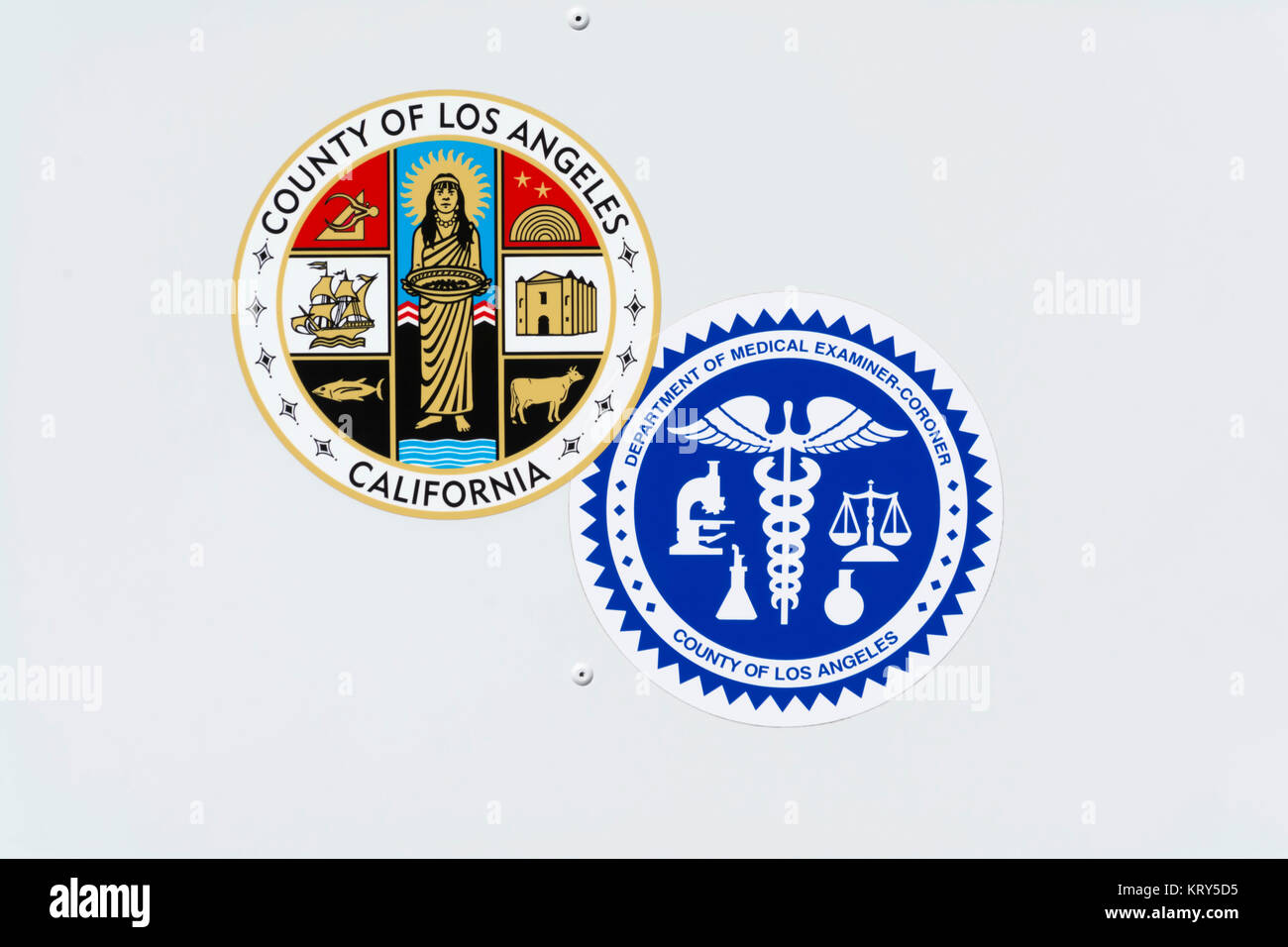 Logo of the coroners office and the seal of the county of los logo of the coroners office and the seal of the county of los angeles california on a department car buycottarizona