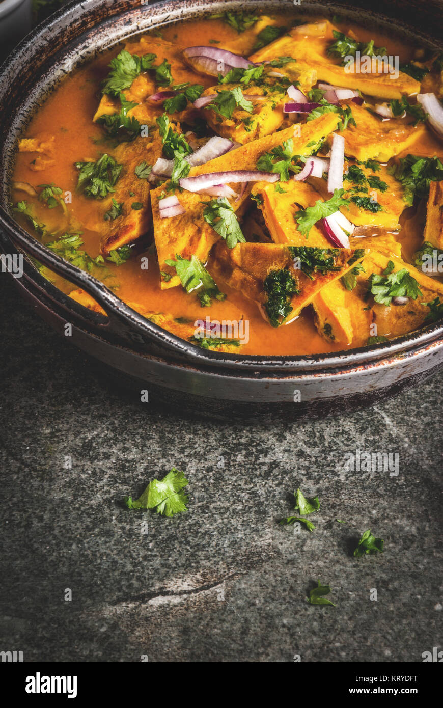 Indian food recipes indian omelet masala egg curry with fresh indian food recipes indian omelet masala egg curry with fresh vegetables tomato hot chili pepper parsley dark stone background copy space forumfinder Images