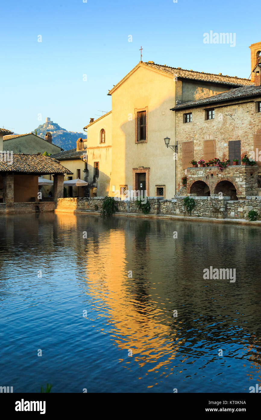 Bagni Vignoni, Val D\'Orcia,Tuscany, Italy Stock Photo: 169660550 - Alamy