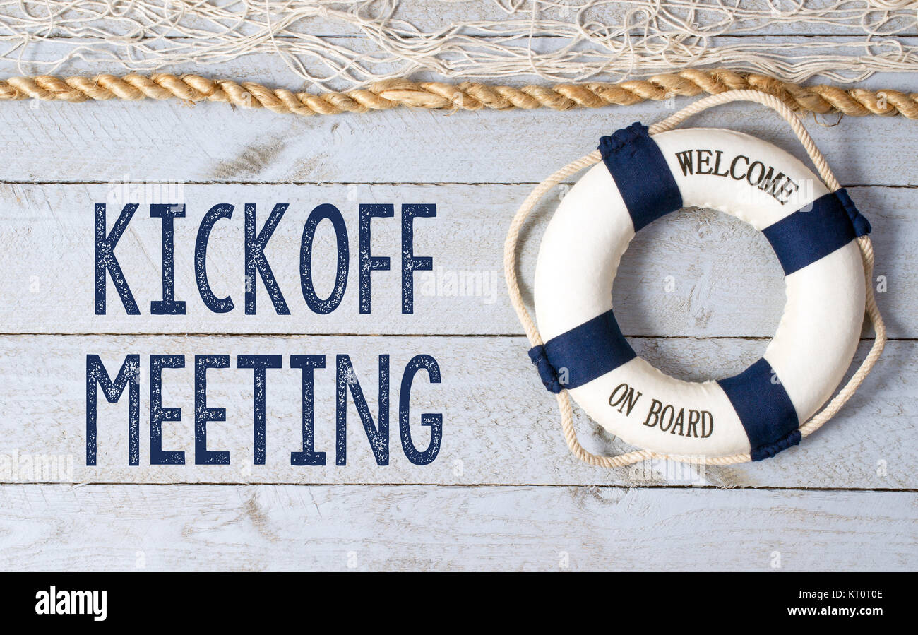 Welcome To Tampa >> Kickoff Meeting Stock Photos & Kickoff Meeting Stock Images - Alamy