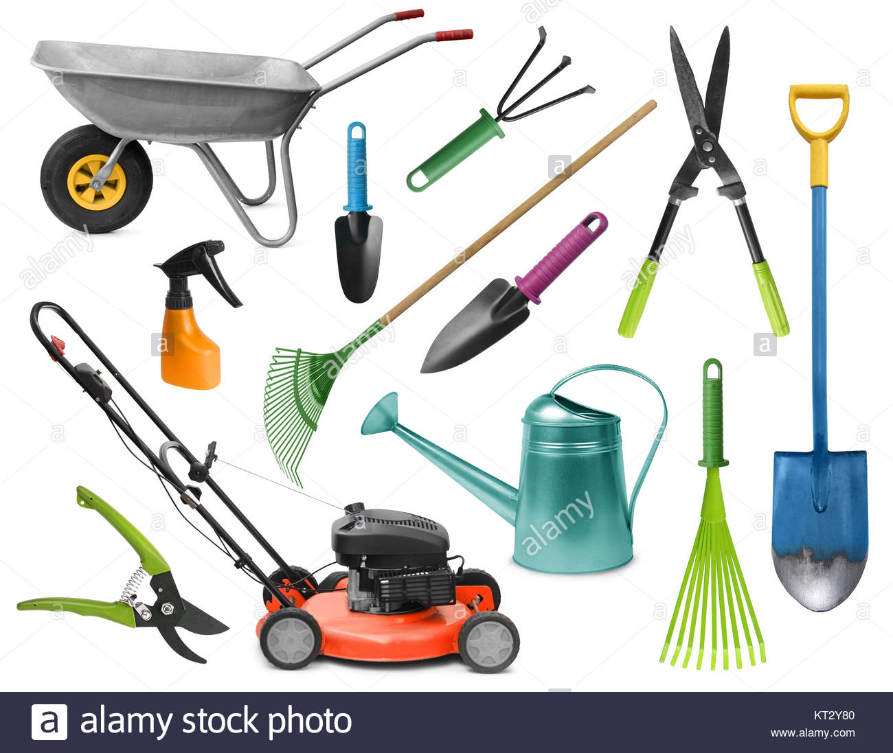 Grasscutter stock photos grasscutter stock images alamy for Essential gardening tools