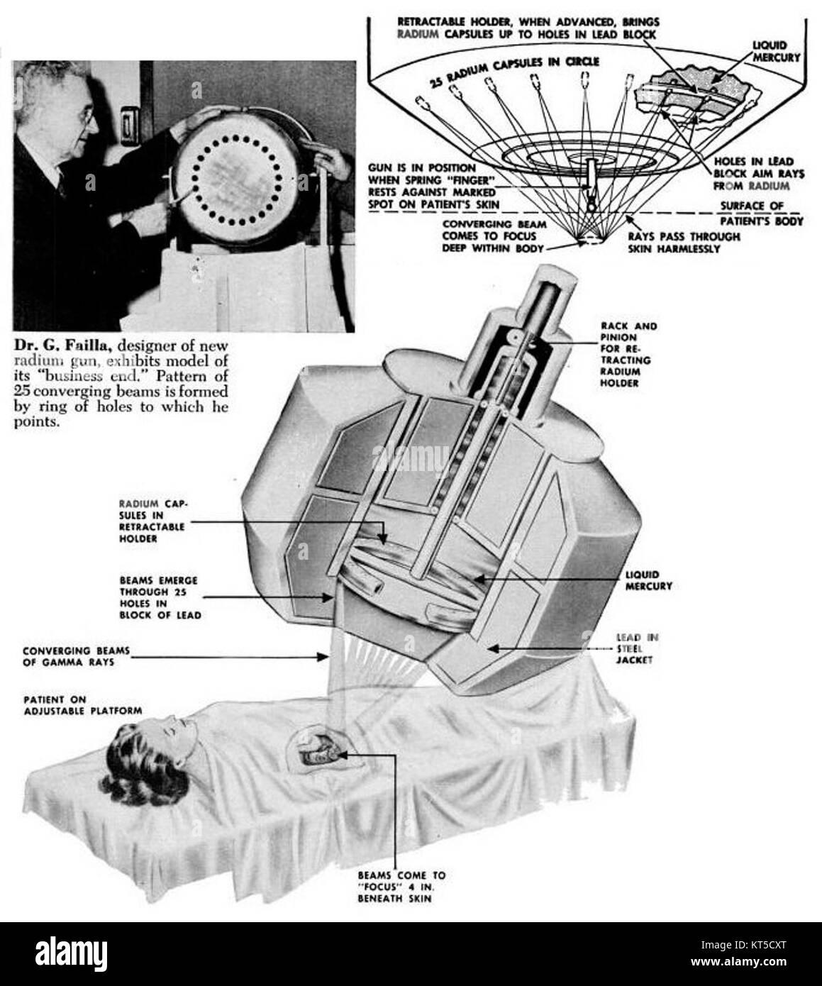 Radium radiotherapy machine 1951 stock photo royalty free image radium radiotherapy machine 1951 pooptronica