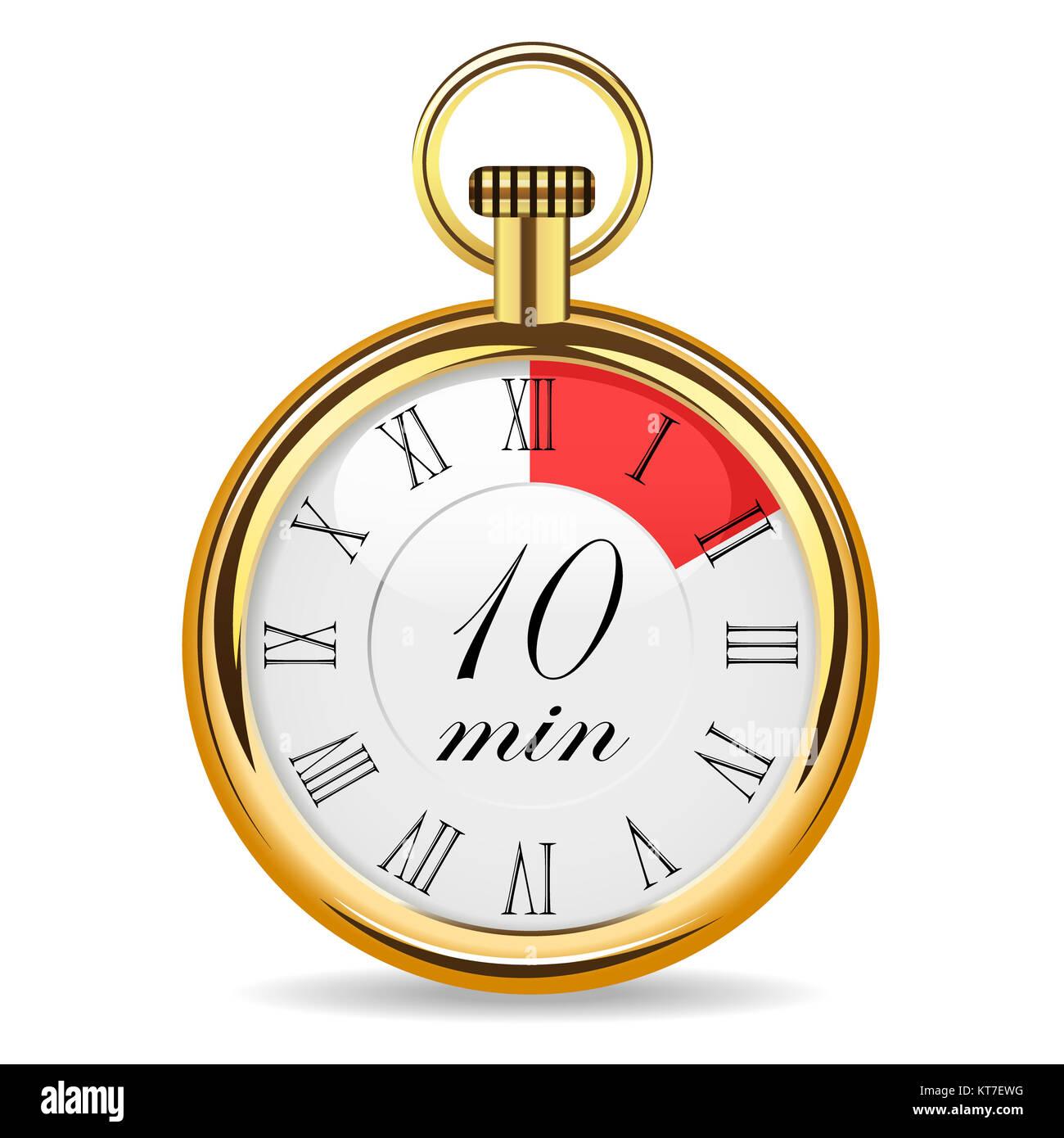 mechanical watch timer 10 minutes