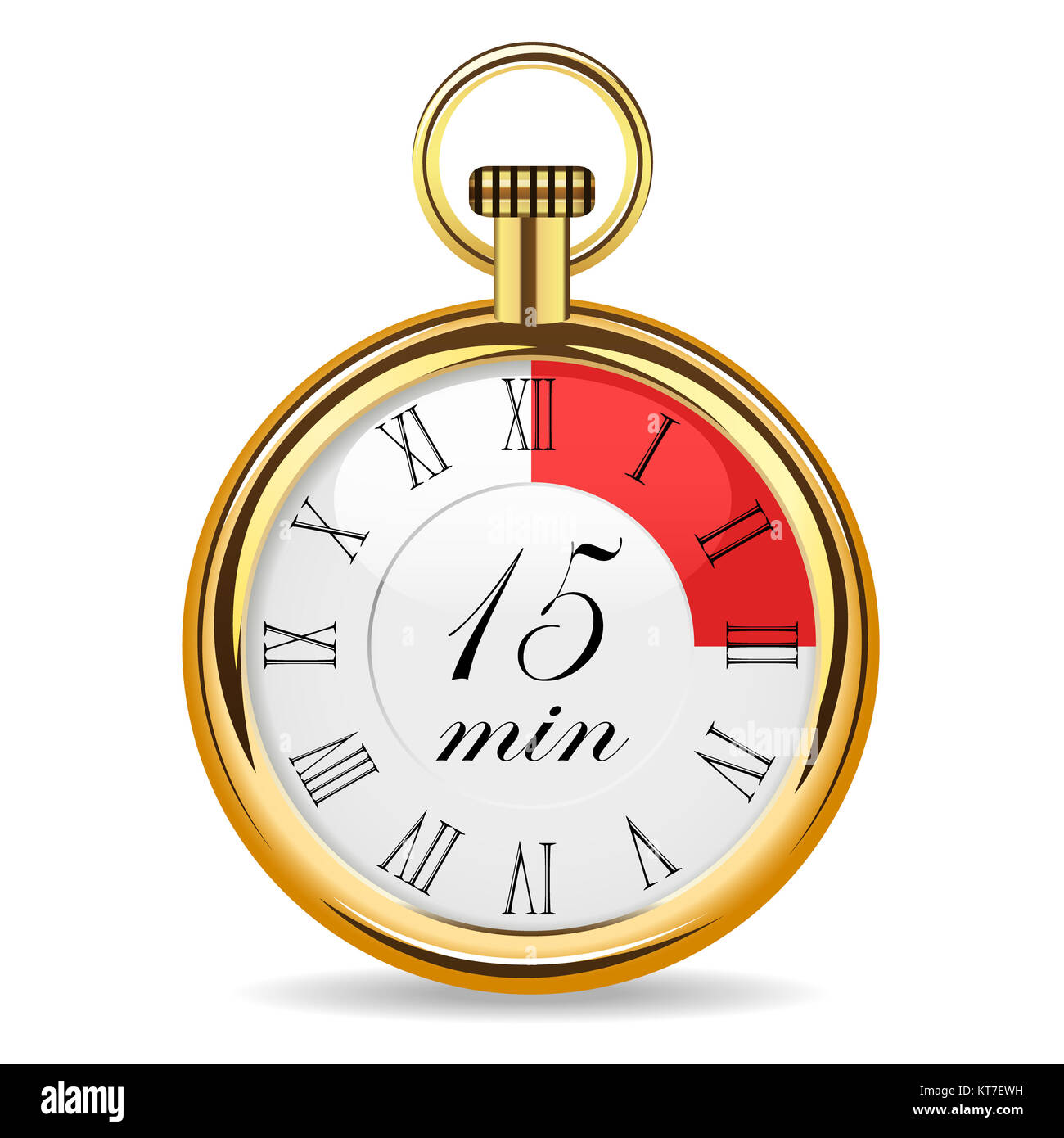 mechanical watch timer 15 minutes stock photo 169810413 alamy