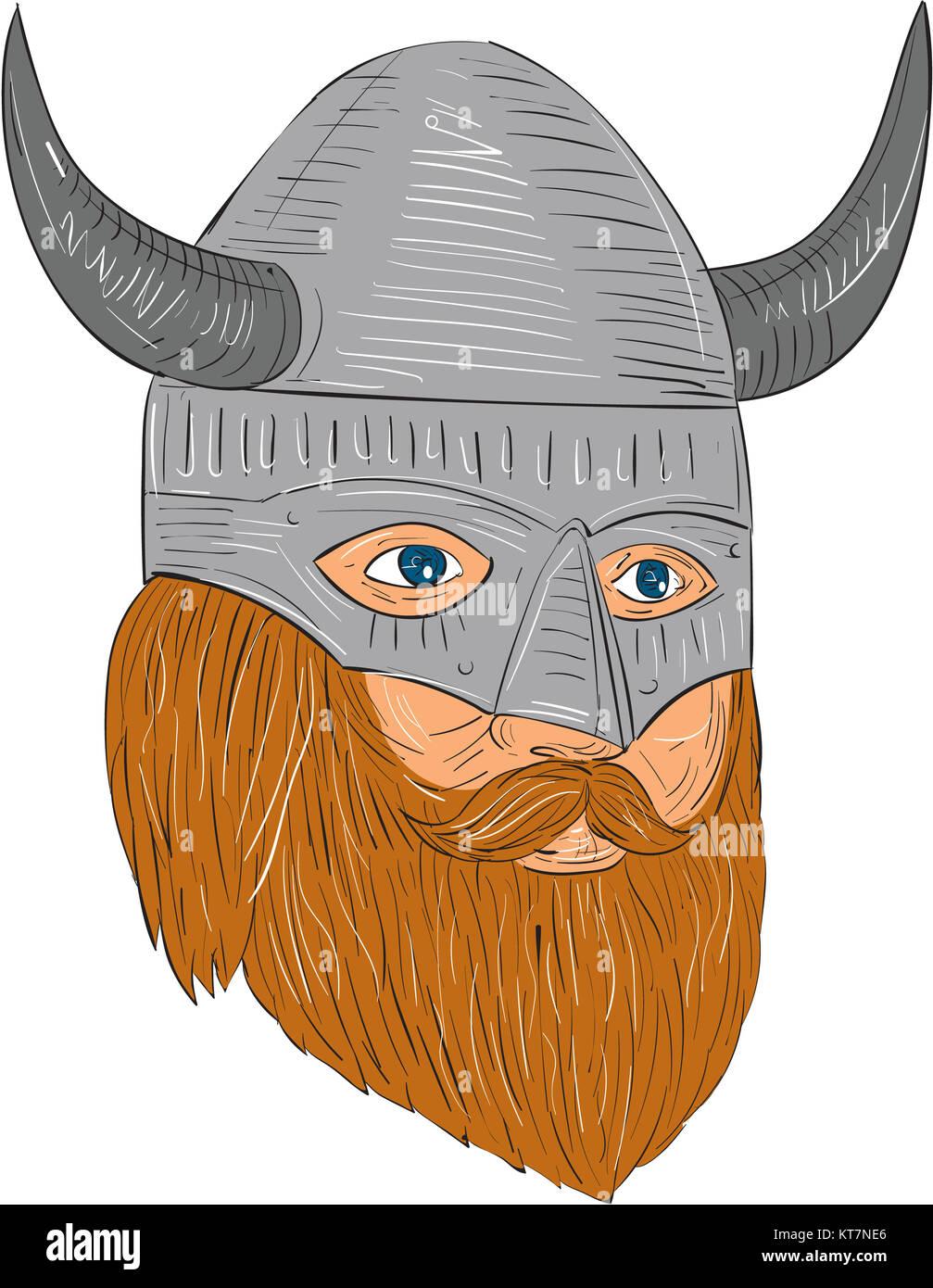 Viking Warrior Drawing Stock Photos & Viking Warrior ...