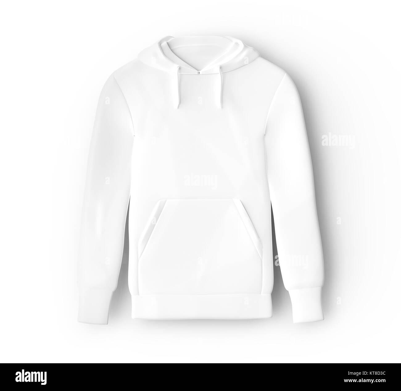 hoodie sweatshirt mockup blank white cloth template for men
