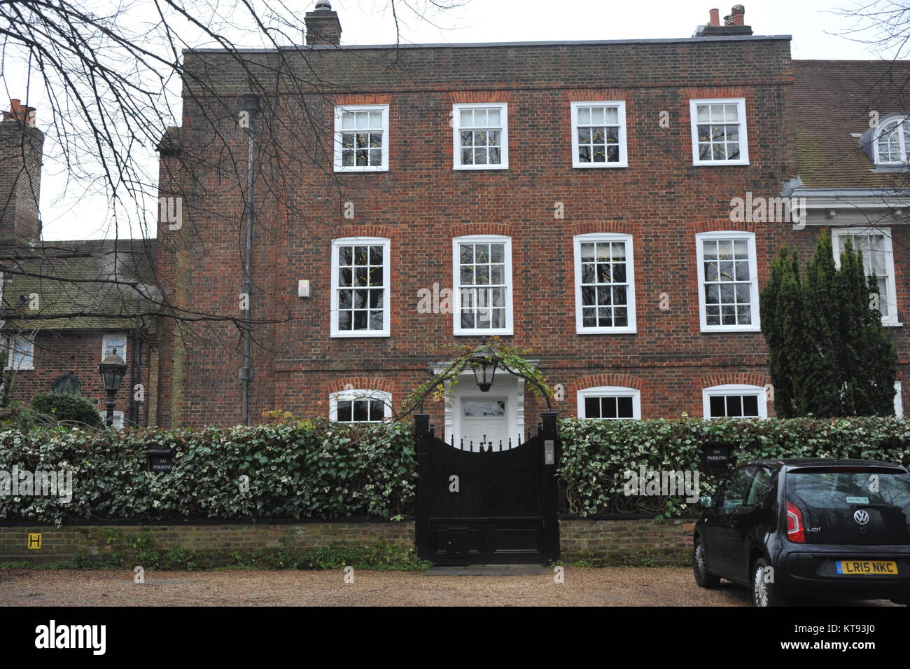 George michaels house in north london where stock photos for The grove house