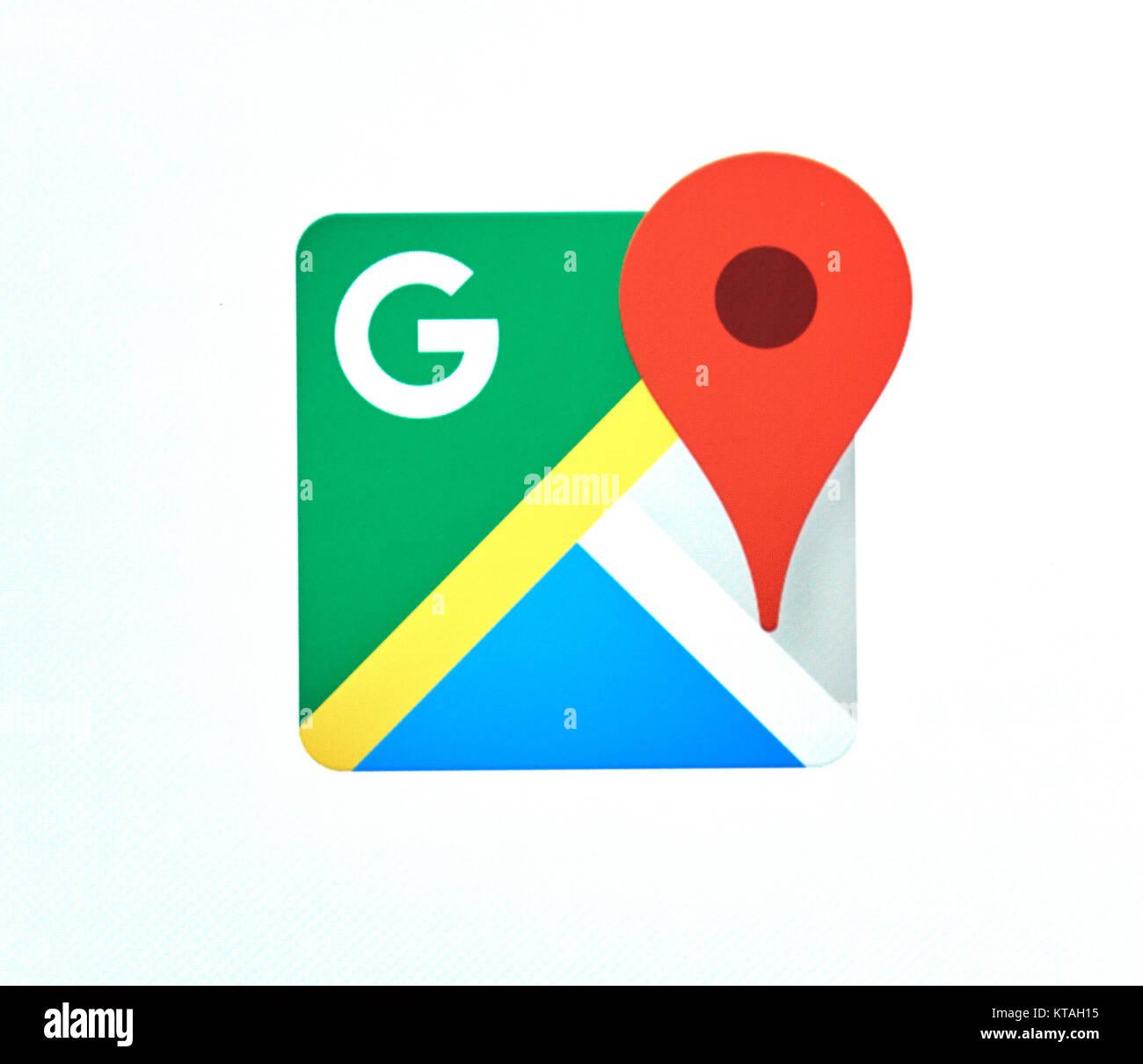 Google Maps Stock Photos & Google Maps Stock Images