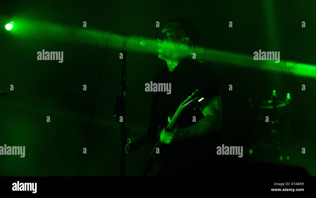 The American industrial rock band Nine Inch Nails performs a live ...