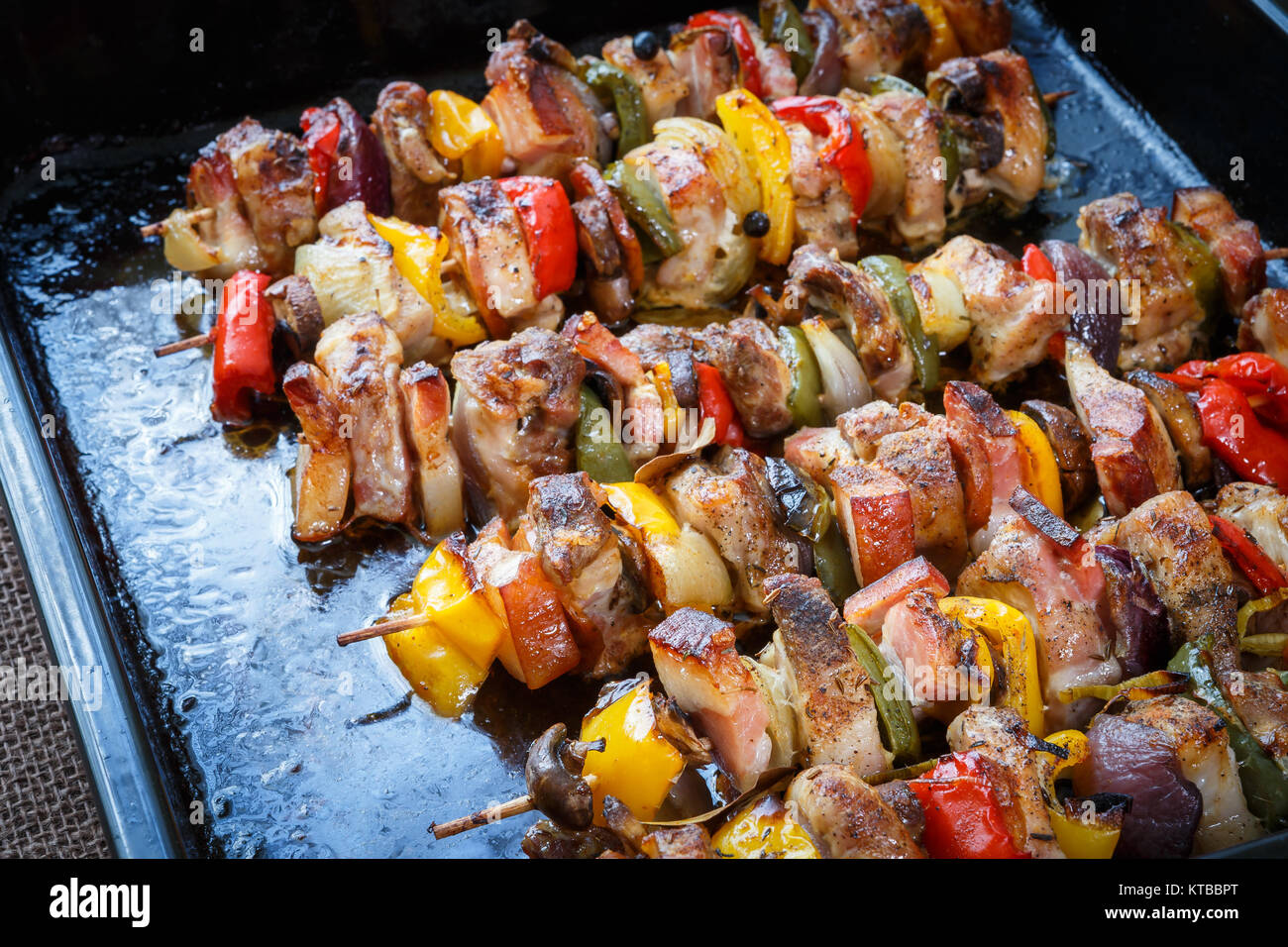 Delicious pork kebab: a step by step recipe 58
