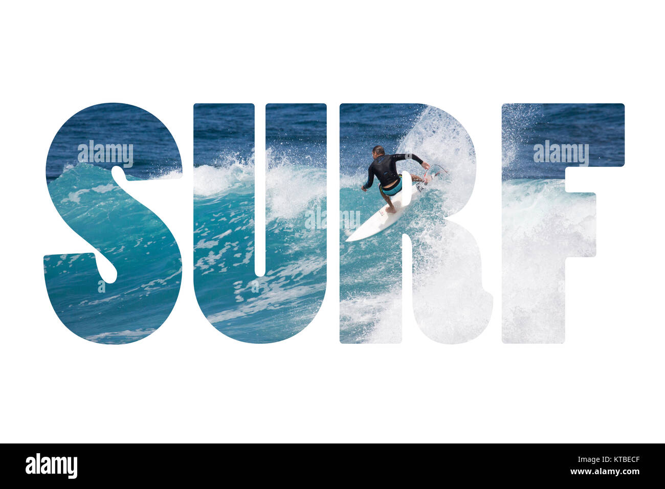word surf riding giant ocean wave in hawaii stock photo 169897855