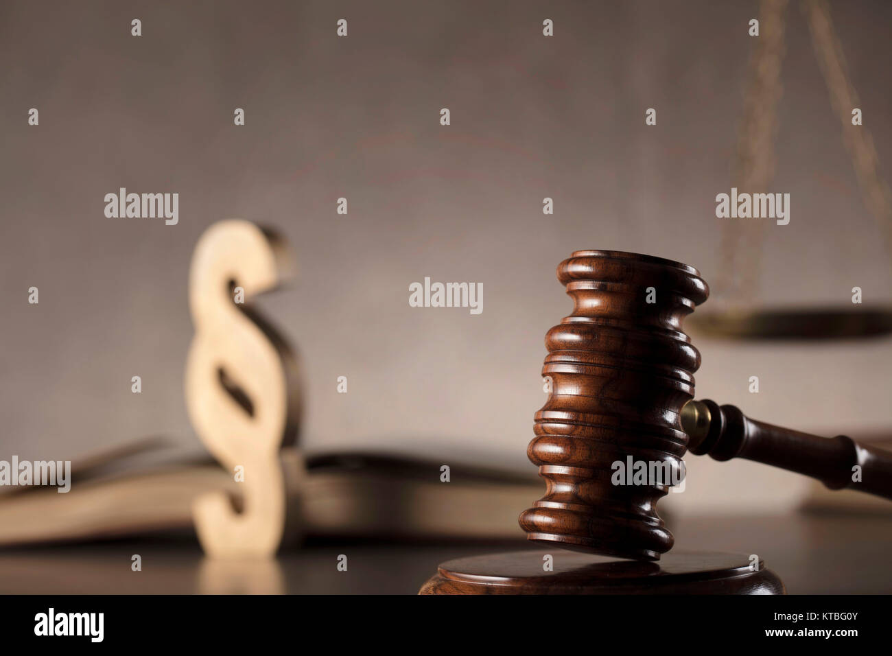 Judge antique gavelscale book and paragraph sign law symbols judge antique gavelscale book and paragraph sign law symbols on stone table and background buycottarizona Gallery