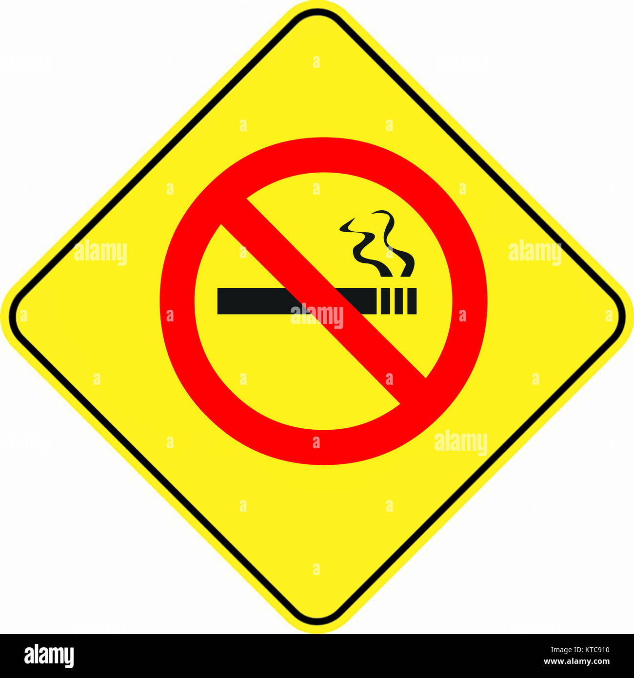 Attention alert no smoking symbol sign stock photo 169915564 alamy attention alert no smoking symbol sign buycottarizona Images