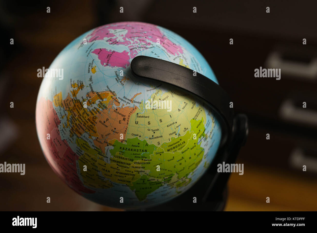 Earth globe map with focus on asia russia canada north pole earth globe map with focus on asia russia canada north pole gumiabroncs Images