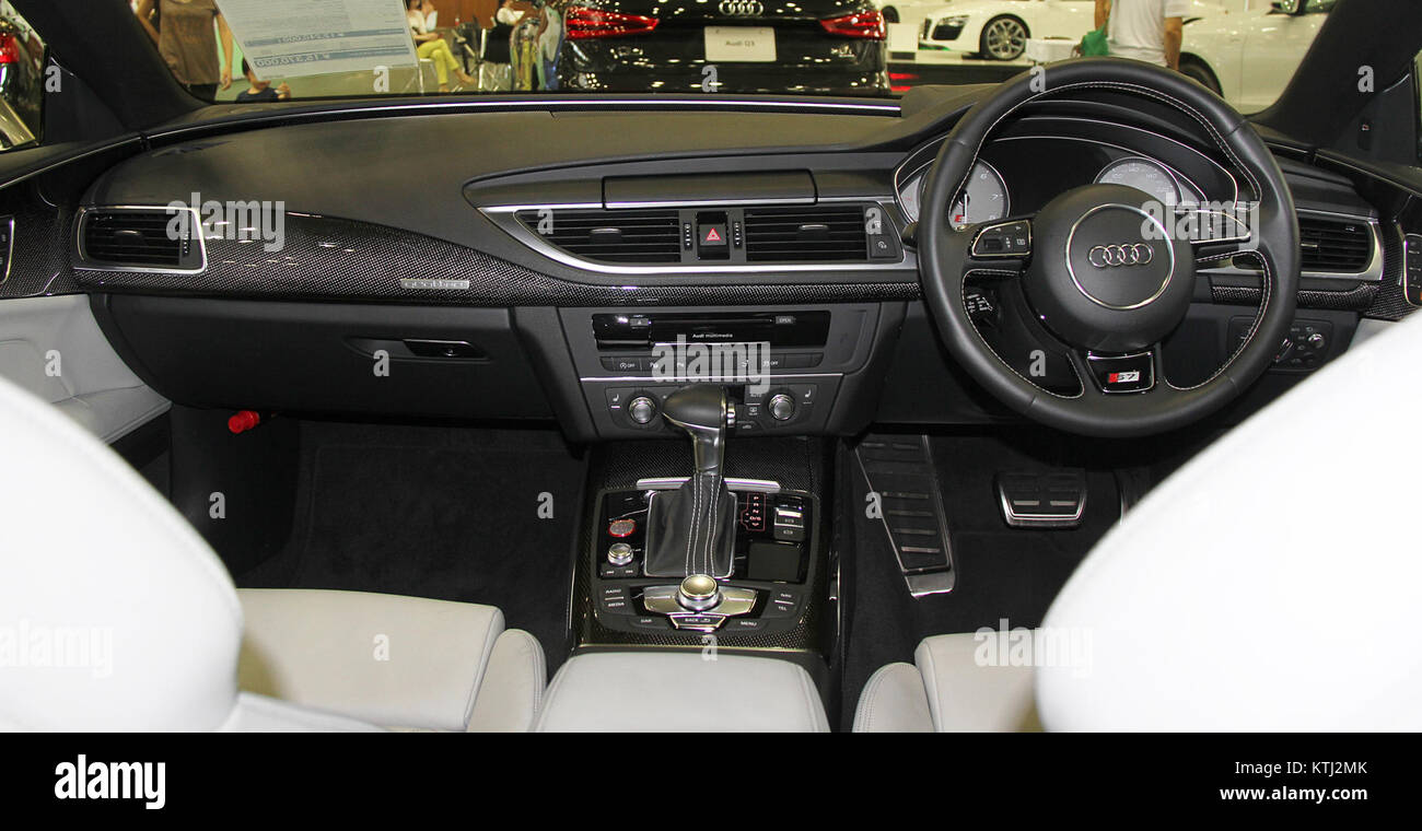 Audi S7 Sportback Interior   Stock Image