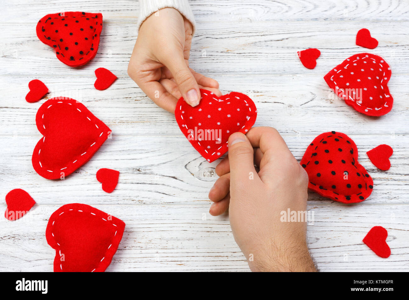 Heart In Hand Stock Photos & Heart In Hand Stock Images - Alamy